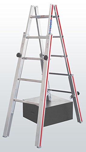 echelle pour escalier 4 pieds r glables. Black Bedroom Furniture Sets. Home Design Ideas