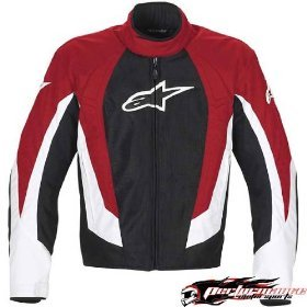 Alpinestars T-RC-1 Air-Flo Textile Jacket , Color: Red, Size: 4XL 330518-30-4XL