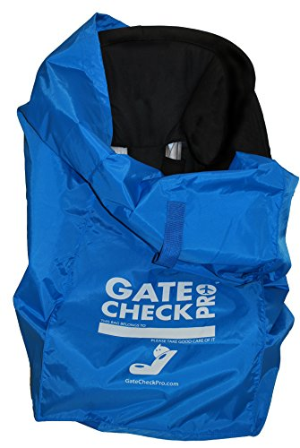 - Gate Check Pro Car Seat Travel Bag | Ultra Durable & Lightweight Ballistic Nylon | One Size Fits Most | Inc. Infant, Toddler & All-in-one Convertible Models | Perfect for Stress Free Travel with Kids - 1