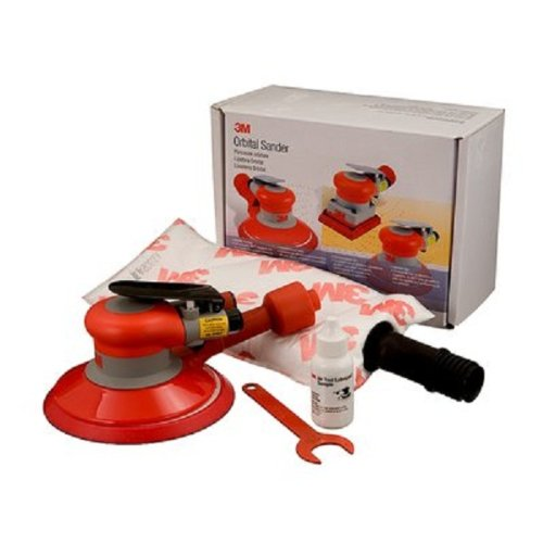 3M(TM) Random Orbital Sander 20208, Self-Generated Vacuum, 6