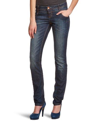 QS by s.Oliver Damen Jeans Normaler Bund 45.899.71.0253, Gr. 44 (Länge 34), Blau (57Z4)