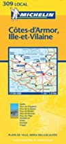 Cote-D'Armor/Ille-et-Vilaine (Michelin Local Maps)