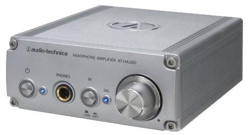 Amplificador de auriculares integrado de convertidor d/a (soporte de 24 bits / 192kHz) Audio-Technica AT-HA26D