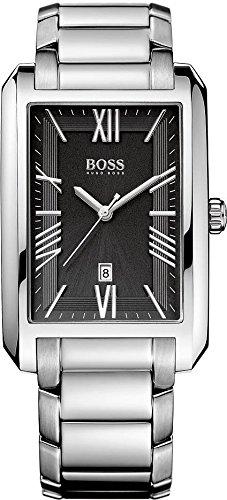 Boss 1513028 - Reloj de cuarzo para hombre, correa de acero inoxidable color plateado