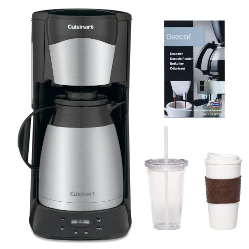 Mr Coffee Coffee Maker Keeps Beeping : Cuisinart DTC975BKN 12 Cup Programable Thermal Coffeemaker in Black + 2-Pack Coffee Mug & Iced ...