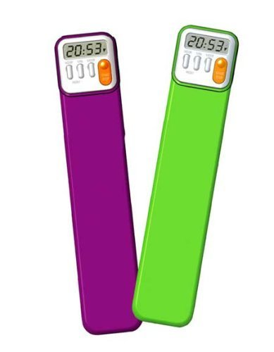 Mark My Time Book Mark and Digital Timer (2 pack) (Book Timer compare prices)
