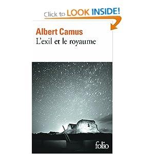 Exil Et le Royaume (Folio) Albert Camus