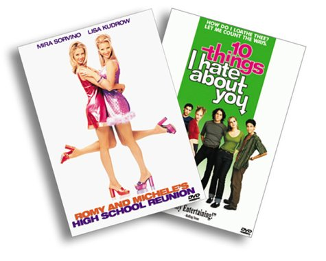 Cover art for  10 Things I Hate About You/Romy and Michele&#039;s High School Reunion