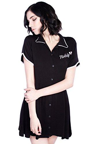 Disturbia Clothing -  Vestito  - skater - Donna nero Small