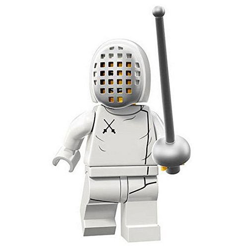LEGO Minifigures Series 13 Fencer Construction Toy - 1