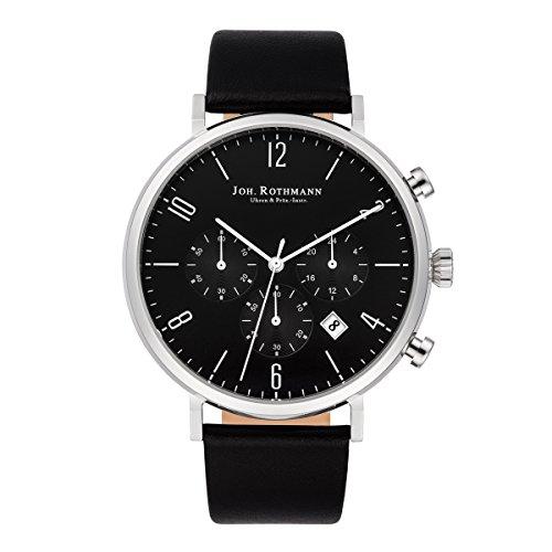 Joh. Rothmann Men's Watch Karl Chronograph stainless steel 5 ATM BLK 10030040