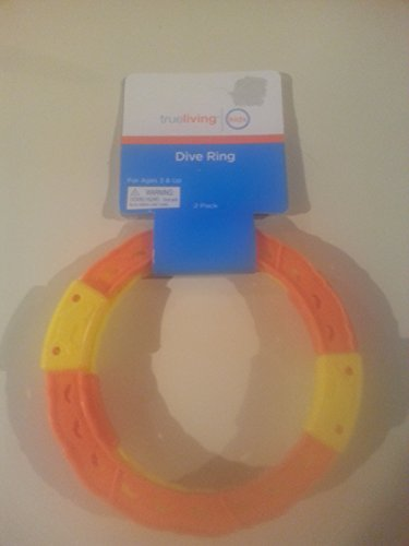 True Living Dive Ring Bundle of 2 (4 Rings)