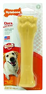 Nylabone Dura Chew Peanut Butter Flavor Souper Chew Toy