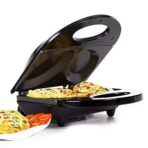 Holstein Housewares HF-09010B Fun Omelette Maker, Black