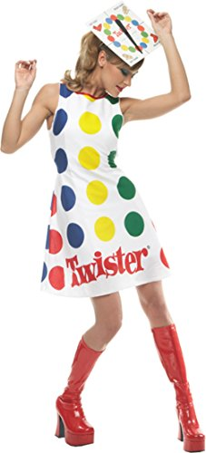 Incharacter Womens Comical Twister Adults Theme Party Fancy Halloween Costume