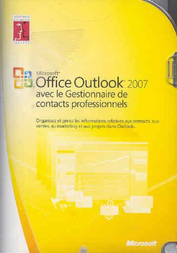 Fr Outlook With Bus Contact Mgr 2007 Win32 CD (vf)