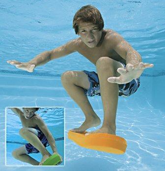 SubSkate Underwater Pool Skateboard Pool Game