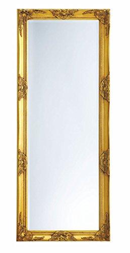 Wandspiegel Der Spiegel ~ Spiegel Flurspiegel Wandspiegel antik gold Barock SOPHIA 180 x 80
