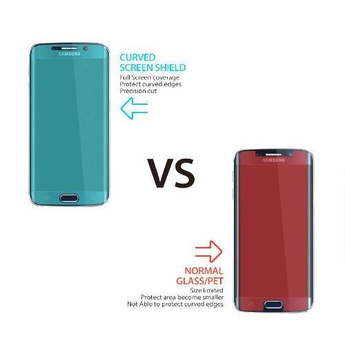 ORDEL® Protector de pantalla curvado para Samsung Galaxy S7 EDGE