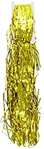 Shimmer Curtain, Metallic Gold, 91cm x 244cm