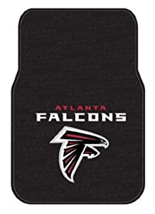 NFL Atlanta Falcons Two-Pack Front Car Floor Mat by Northwest
