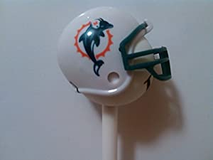 Miami Dolphins Football Helmet Antenna Topper