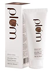 Plum Choco Latte Smudge Free Hand Cream, 60ml