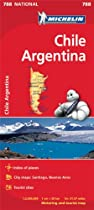 Chili Argentine National Map 788 (Michelin National Maps)