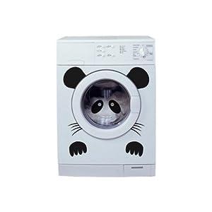 itoshii sticker pour lave linge panda. Black Bedroom Furniture Sets. Home Design Ideas