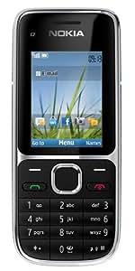 Nokia C2-01 Sim Free Mobile Phone 3G - Black