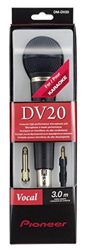 Microfono alta fedeltà DM-DV20 Pioneer disk jockey Nero/Antracite Negozio Intermarket Hi-Fi Roma progettazione, vendita, installazione, assistenza tecnica di alta fedeltà, video, audio, accessori, musica liquida, DJ, Home Automation, Mobili.