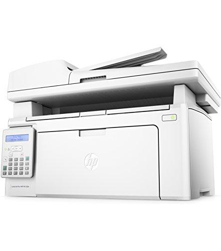 HP LaserJet Pro M130fn Stampante Multifunzione Monocromatica, Stampa, Copia, Scansione e Fax, Bianco