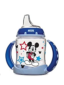 NUK Disney Mickey Mouse Learner Cup with Silicone Spout, 5-Ounce from NUK