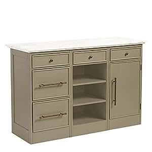 paulette kitchen 3 cabinet island ballard designs. Black Bedroom Furniture Sets. Home Design Ideas