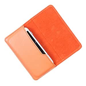 Dooda PU Leather Flip Pouch Case For XOLO A550s IPS