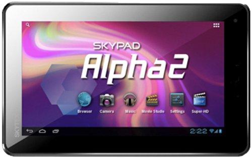 Skytex Sx-Sp715A4 Skypad Alpha 2 Android 4.0 Tablet 4Gb Webcam Aluminum Case