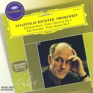 Prokofiev : Piano Concerto No. 5, Piano Sonata No. 8