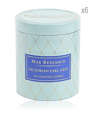 Max Benjamin Set x 6 Velas Victorian Earl Grey Tea
