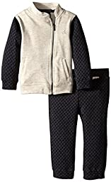 Calvin Klein Little Girls\' Jacket and Pants, Multi, 5