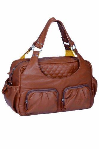 Lassig Tender Multipocket Changing Bag (Cognac) by Lassig