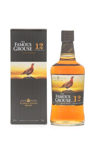 The Famous Grouse Gold Reserve 12yo Blended Scotch Whisky 70cl