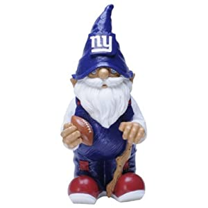 NFL New York Giants Garden Gnome by Forever Collectibles
