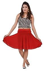 Carrol short Skirt-Red