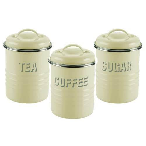 Typhoon Tea Coffee And Sugar Set Cream