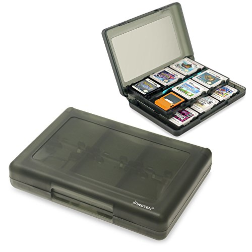 Insten 28-in-1 Game Card Case Compatible With Nintendo NEW 3DS / 3DS / DSi / DSi XL / DSi LL / DS / DS Lite, Smoke (Gameboy Advanced Games Used compare prices)