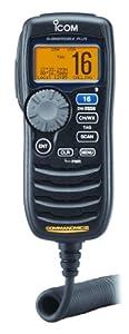 Icom HM-162B CommandMic III Remote Marine Microphone (Black)