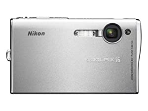 Nikon Coolpix S6 6MP Digital Camera with 3x Optical Zoom (Wi-Fi Capable)
