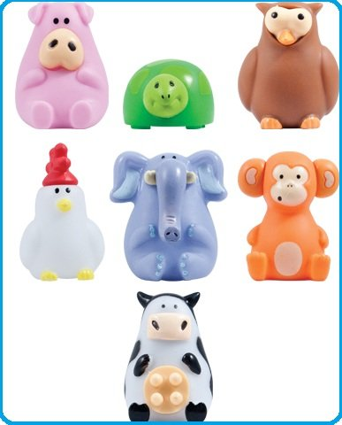 Animals Wacky Pack of 7