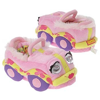 Cheap Bedtime Safari Kids' Bedtime Story Slippers (Pink S OT) (B000JLEDYO)