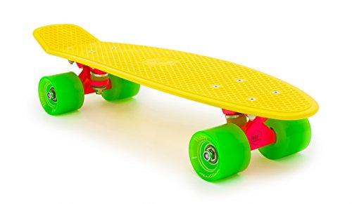 skateboard-miller-division-baby-original-couleur-jaune-fluo-taille-22